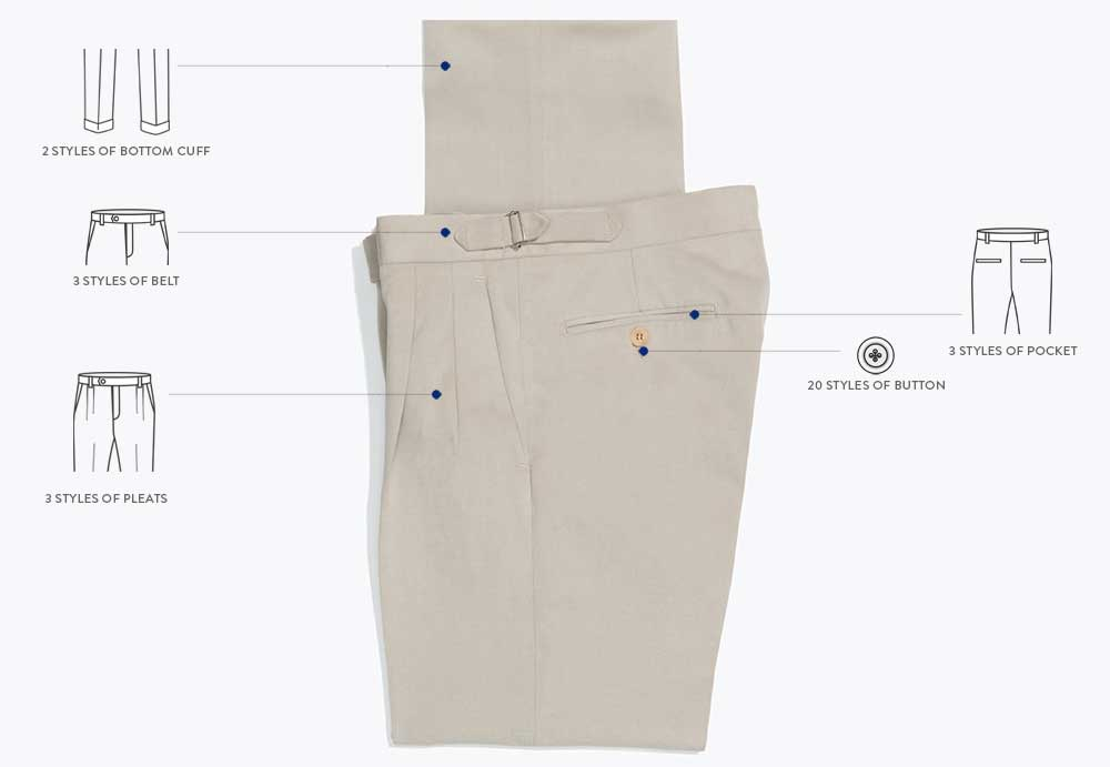 Tailored Custom Trousers