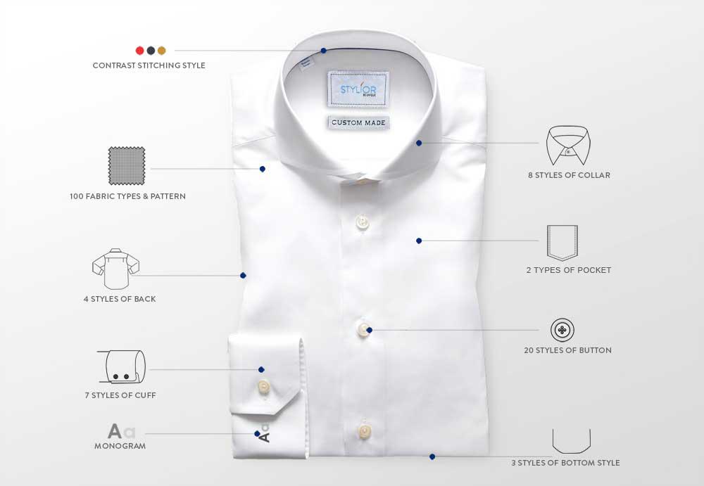 Tailored Custom Shirts