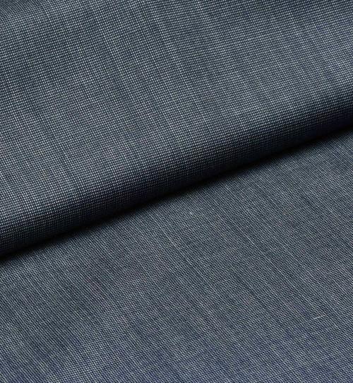 Spectacular Shade Big Blue Fil-a-Fil Weaved Trouser