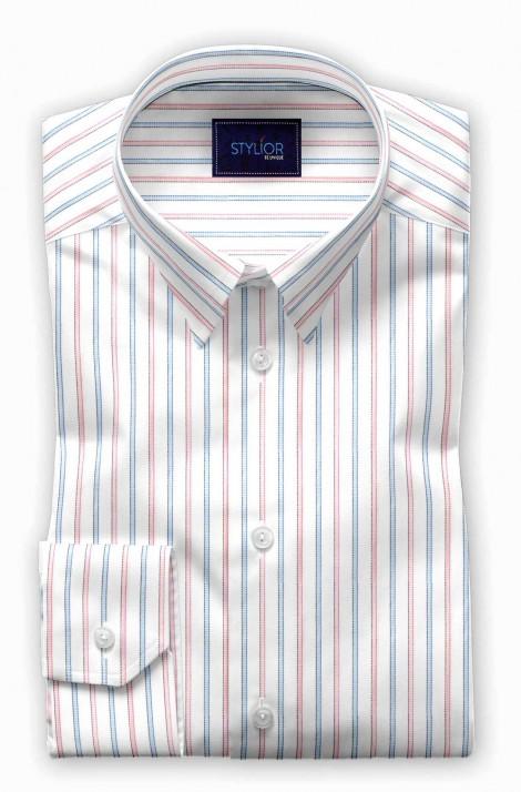 South Hemisphere Melon Stripe Shirt