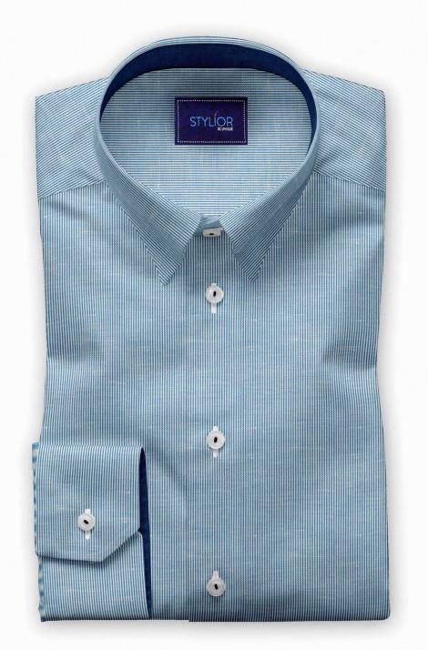 Permanent Stripes Blue Shirt
