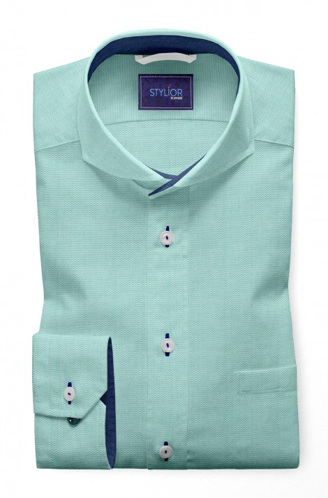 Matt Dobby Sea Blue Shirt