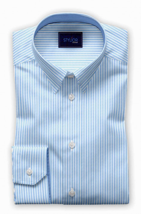 Prague Blue Stripe Shirt