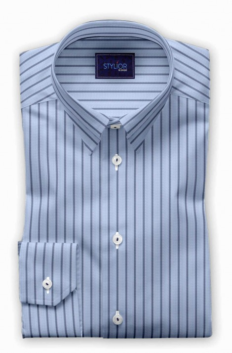 Nottingham Blue Stripe Shirt