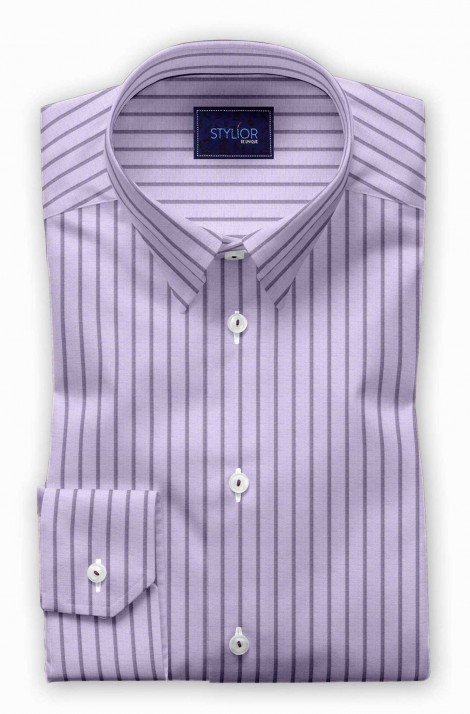 Nottingham pink Stripe Shirt