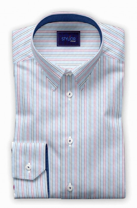 Malaga Blue Stripe Shirt