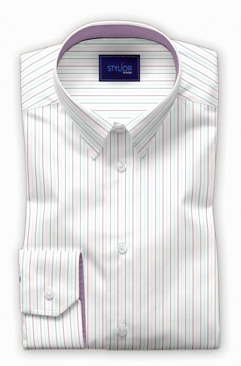 Vilinus White Stripe Shirt