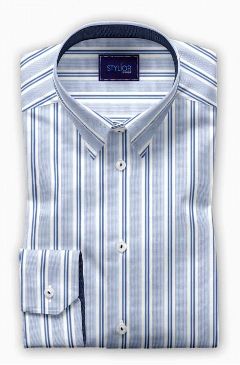 Stockholm Blue Stripe Shirt