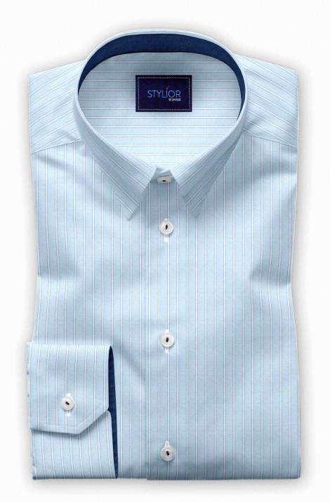 Tulon Blue Stripe Shirt