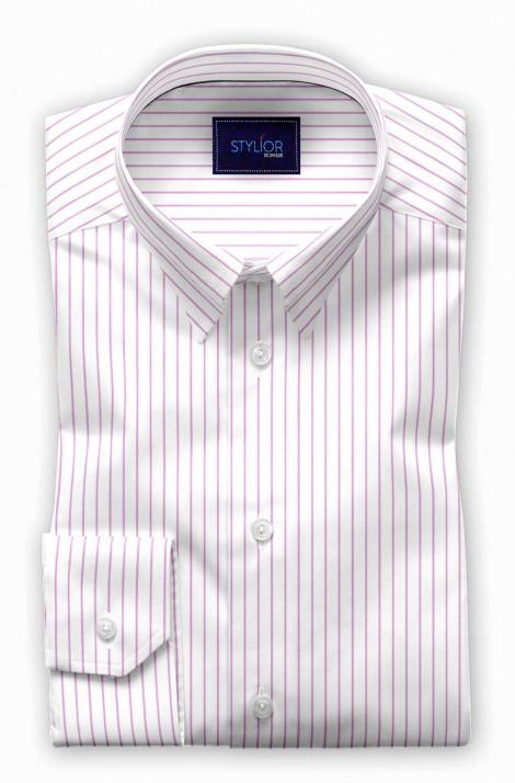 Zagreb Pink Stripe Shirt