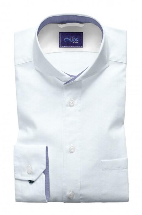 Basic Twill Pastel Blue Shirt