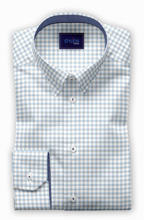 Lumia Blue Checks Shirt