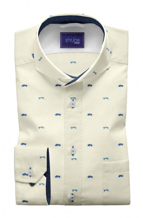 Fish Butta Cream Shirt