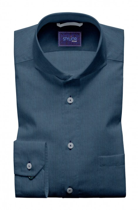 Naples Blue Filafil Shirt