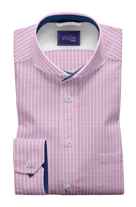 Rome Pink Stripe Shirt
